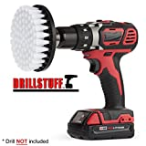 Marine - Drill Brush - Boat Accessories - Hull and Deck- Cleaning Supplies - Spin Brush - Fiberglass, Aluminum, Gel Coat, Wood, Painted - Kayak - Raft - Fishing Boat - Inflatable - Hull Cleaner