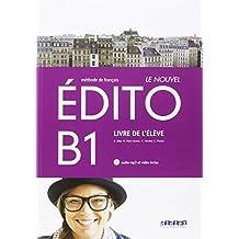 LE NOUVEL EDITO B1 ELEVE+CD+DVD - 9788490492062