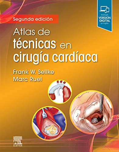 Atlas de técnicas en cirugía cardíaca (Spanish Edition)