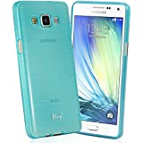TheBlingZ.® Jelly TPU Rubber Silicone Case Cover For Samsung Galaxy A3 (2015) - Blue