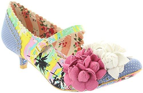 Irregular choice dAISY dAYZ 2654-64, escarpins femme Multicolore - Multicoloured