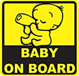 #9: isee360 Car Safety Baby On Board Water Resistance Decal Sticker