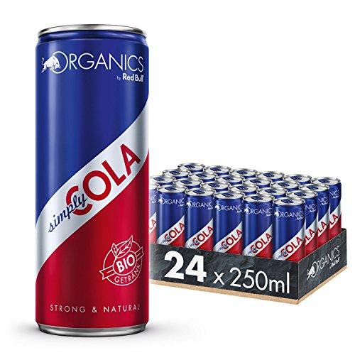 Organics by Red Bull Simply Cola 24 x 250 ml Dosen Bio Getränke 24er Palette