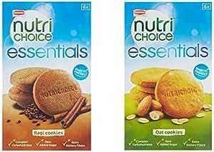 Britannia NutriChoice Essentials Oats, 150g + Britannia NutriChoice Essentials Ragi, 150g