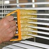 Blind Duster APMAX Reinigungsbürste Microfaser Reiniger Pinsel Abnehmbare Staub Collector Fensterbürste für Fensterläden Vent Klimaanlage Staubabscheider Reinigungstuch Werkzeug