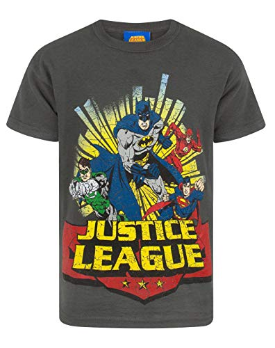 Justice League Comic Boy's T-Shirt (5-6 Years)
