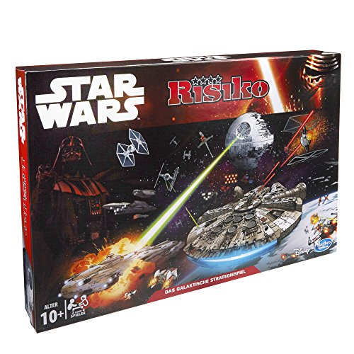 Hasbro B2355100 - Star Wars Risiko, Strategiespiel (Wars-flotte Star)