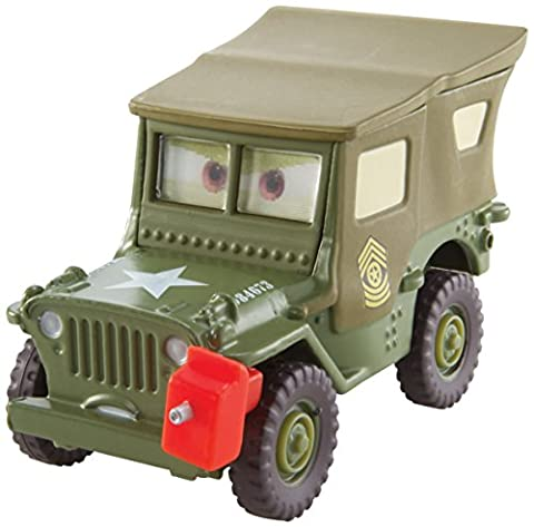 Disney Pixar Cars Pit Crew Member Sarge (Pit Crew Series, # 1 of 8) - véhicule miniature