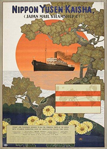 vintage-de-viaje-japon-con-japon-mail-steamship-company-nippon-yusen-kaisha-c1915-35-250-gsm-brillan