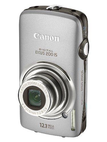 Bargain Canon Digital IXUS 200 IS Digital Camera – Silver (12.1 Megapixel, 5x Optical Zoom) 3.0 inch LCD Discount