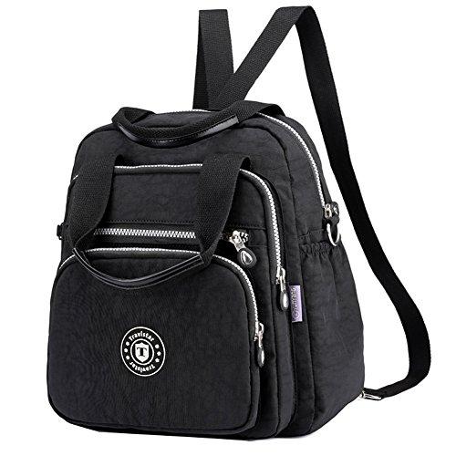 Hozee Tasche Damen Umhängetasche Henkeltasche Messengertasche Schultertasche Rucksack für Mädchen Schule Frauen Reiser Einkaufen
