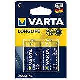 Varta Longlife Batterie C Baby Alkaline Batterien LR14 - 2er Pack