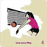 Chipka Ke Bol Volley Ball Design Fridge ...