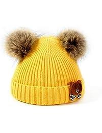 Amazon.it  cappellino neonato - Giallo   Cappelli e cappellini ... 01b1a362c329