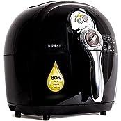 Duronic AF1 /BK Friteuse à air chaud sans huile de couleur noire + Livre de recettes gratuit