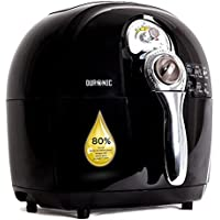 Duronic JetFryer AF1 /B - Friggitrice ad aria 1500W incluso ricettario