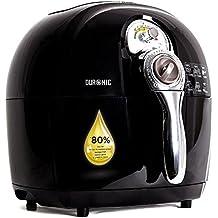Duronic AF1/B – Airfryer, freidora saludable multiuso sin necesidad de aceite –Tecnología circulación de aire – Capacidad 2.2L – Piezas aptas lavavajillas