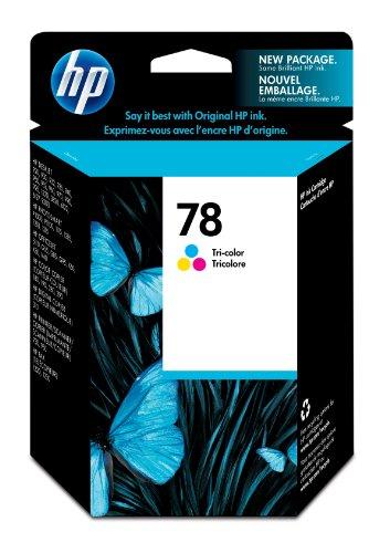 HP Hewlett Packard Tinte Inkjet Farbe Print Drucker Fax Drucker Kopierer Patrone Nr. 78C6578DE C6578D 78D (78A C6578AE C6578A) (Inkjet-drucker Patrone 19 Hp)