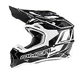 O'Neal 2Series RL MX Helm Manalishi Schwarz Weiß Motocross Enduro Quad Cross ABS, 0200-00, Größe S (55/56 cm)