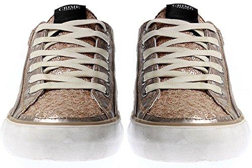 Crime London, Sneaker donna Multicolore multicolore Multicolore (bronzo)