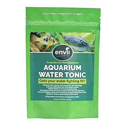 Envii Aquarium Water Tonic – Water Treatment Uses Vital Minerals To Reduce Fish Stress & Prevent Parasitic Disease and… 1