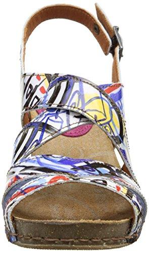 Arte Mi Sento 235, Sandali Da Donna Multicolore (scatola)