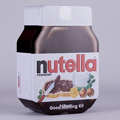 Nutella Good Morning Kit Set 180g (inkl. Streicher,Glas und Platzdeckchen)