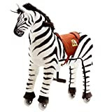 Original Animal Riding  ZRZ003S  Reittier auf Rollen  Zebra Marthi  Reittier, small
