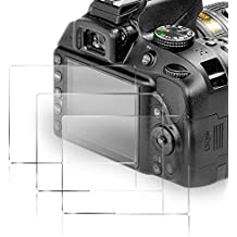 (3 pezzi) Kimilar Pellicola Protettiva per Nikon D3400/D3300/D3200/D3100/D3000 9h durezza anti-scratch Pellicola Protettiva per Nikon Fotocamera