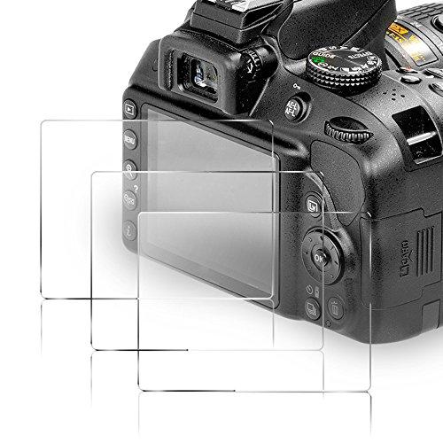 Galleria fotografica (3 pezzi) Kimilar Pellicola Protettiva per Nikon D3400/D3300/D3200/D3100/D3000 9h durezza anti-scratch Pellicola Protettiva per Nikon Fotocamera