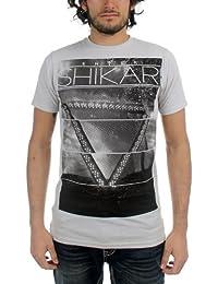 Enter Shikari - Mens Album T-Shirt in Silver