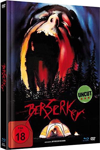 Berserker - Limited Mediabook-Edition (Blu-ray+DVD plus Booklet/digital remastered)