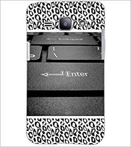 PrintDhaba Keyboard D-5095 Back Case Cover for SAMSUNG GALAXY J1 (Multi-Coloured)