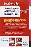 Image de Bescherelle Chronologie de la littérature française: du Moyen Âge à nos jours