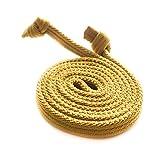 CAMPER Schnürsenkel elastisch, verschiedene Farben & Größen, Farbe:Cami Gelb, Länge:77 cm