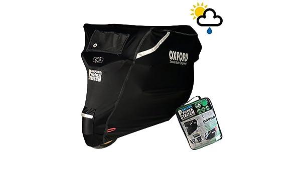 SUZUKI DL650 V-STROM XT Oxford Stormex Waterproof Motorcycle Bike Cover Black
