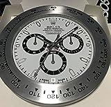 HAOYUN Rolex, Reloj de pared Reloj despertador luminoso daytona