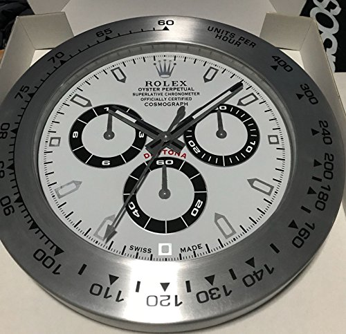 REPLICA ROLEX 35 MM DA MURO DAYTONA METALLO MOVIMENTO SILENZIOSO …