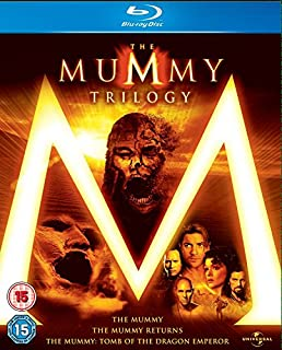 The Mummy 1, 2 & 3 Box Set [Blu-ray] [Region Free] (B001G619C0) | Amazon price tracker / tracking, Amazon price history charts, Amazon price watches, Amazon price drop alerts