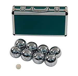 Luxurious Boule Set of 8 - In Strong Metal Case-Jaques of London