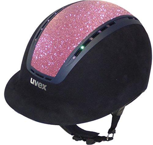 Uvex Suxxeed Glamour pink in black oder blue, Helm Größe:55-56, Helm Farbe:blue