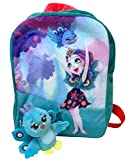 Enchantimals MC-104-EN Mochila con Mascota de Peluche Sage Skunk