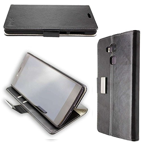 caseroxx Hülle / Tasche Bookstyle-Case Vernee Apollo Lite Handy-Tasche, Wallet-Case Klapptasche in schwarz