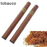 Yeleo Trosetry Cigarette électronique, Fumée de Fruits, Parfums Différents, Cigarette Electronique pas cher, Jusqu'à 1300 Souffles, Sans Nicotine(tabac)