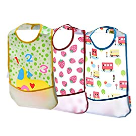 GHB Bandana Dribble Bibs for Babies and Toddler 10-Pack