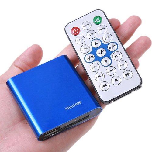 Gateway-multimedia (Mini-Multimedia-Player Gateway Video Full HD, 1080P, HDMI TV, USB, SDHC-Karte)