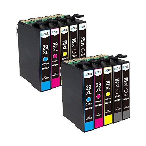 10 LxTek Kompatibel für Epson 29 29XL Druckerpatronen für Epson Expression Home XP-342 XP-245 XP-255 XP-332 XP-335 XP-345 XP-352 XP-432 XP-435 XP-442 XP-445 XP-452 (4Schwarz, 2Cyan, 2Magenta, 2Gelb)