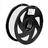 Sienoc 1kg 1.75mm ABS imprimante 3d Filament imprimante–avec bobine (Blanc)