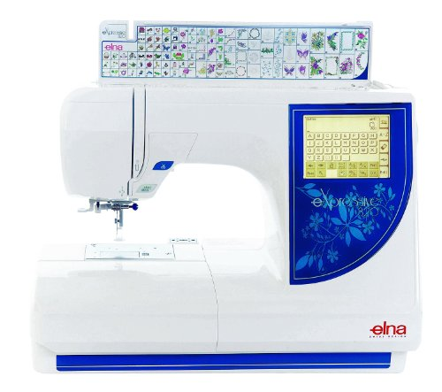 Elna eXpressive 820 (Elna 8300) Stickmaschine
