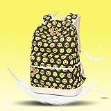 Kinder Rucksack Neue Mode Gedruckt Leinwand College Casual Rucksack kreativen Stil Multifunktionale Komfort geeignet für Campus Mädchen zur Schule Oder zu Reisen